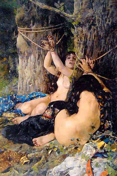Las hijas del Cid, Ignacio Pinazo, 1879. Diputación de Valencia, España.