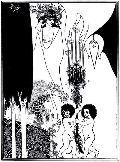 The eyes of Herod, 1894. Aubrey Vincent Beardsley (1872-1898)